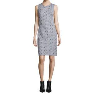 Diane Von Furstenberg DVF Ribbon Rectangles Dress